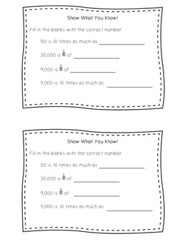Guided Math Lesson Plans for Place Value: Place Value Patterns