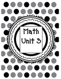 2nd Grade Guided Math Lessons Everyday Math Unit 3 and 4