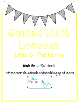 Guided Math Lessons- Fractions