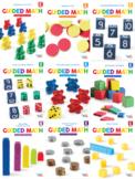 Guided Math Lessons: Kindergarten Bundle Units 1-9