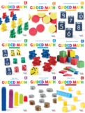 Guided Math Lessons: Kindergarten Bundle Units 1-9