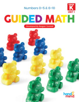 Guided Math Lessons: Kindergarten Unit 1