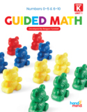 Guided Math Kindergarten Unit 1: Numbers 0 to 10