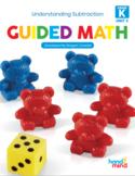 Guided Math Kindergarten Subtraction