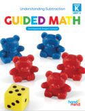 Guided Math Kindergarten Unit 5: Understanding Subtraction
