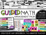 Guided Math Management Pack with Timers