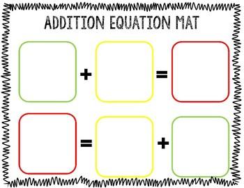 Guided Math Mats Kindergarten