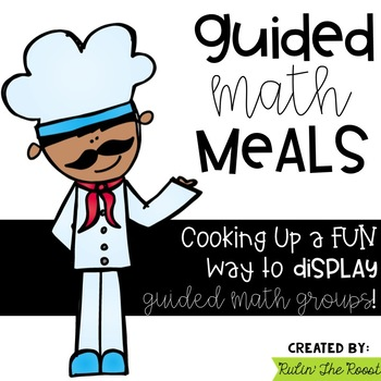 Guided Math Meals-A Way to Display Guided Math
