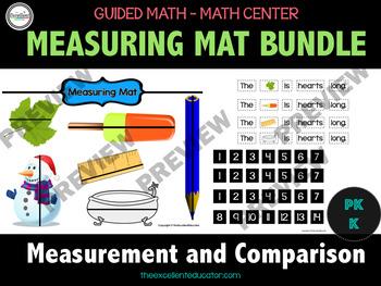 Guided Math - Measuring Mat Bundle