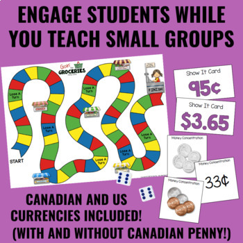 Guided Math: Money Centers