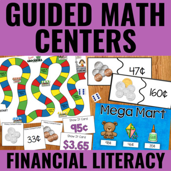 Guided Math Centers: US and Canadian Money