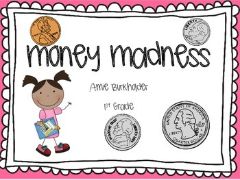 Guided Math- Money Madness EDITABLE