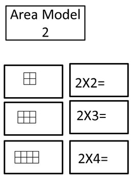 Guided Math Multiplication Center 2