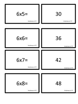 Guided Math Multiplication Center 6