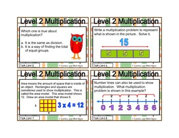 Guided Math (Multiplication) Level 2