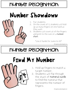 Guided Math Skills Activity Pack: Basic Number Sense