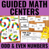 Guided Math: Odd and Even Numbers FREEBIE