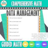 Guided Math   Data Management   GR-3-6   NEW Ontario Math Curriculum 2020