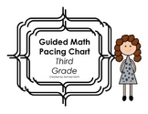 Third Grade Guided Math CCSS Pacing Chart