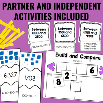 Guided Math Centers: Place Value to 10 000