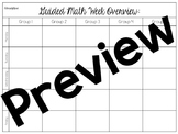 Guided Math Planning