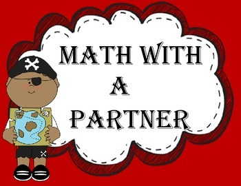 Guided Math Posters Pirate Theme Perfect for Math Centers