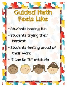 Guided Math Posters/Anchor Charts