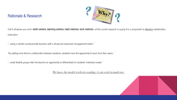 Guided Math PowerPoint