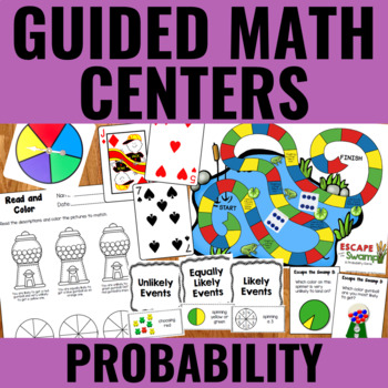 Probability Centers for Guided Math