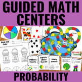 Guided Math Centers: Probability