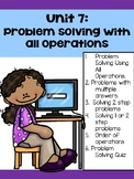 Guided Math Problem Solving Unit