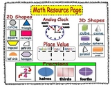 Guided Math Resource Materials