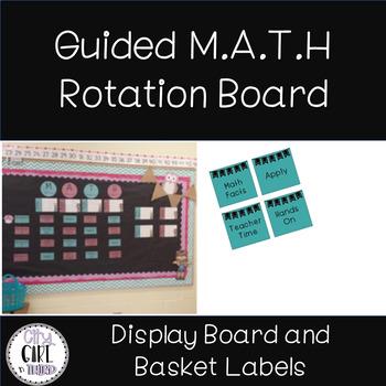 Guided Math Rotation Board