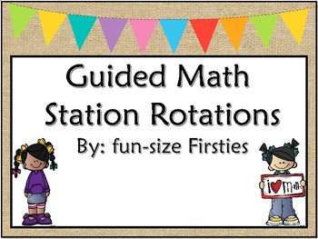 Guided Math Rotations