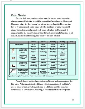 Guided Math Rotations Resource