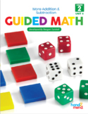 Guided Math Second Grade Unit 4: Double & Triple Digit Addition and Subtraction