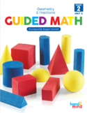 Guided Math Second Grade Unit 6: Geometry and Fractions