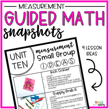 Guided Math Snapshots Measurement