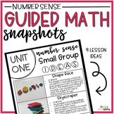 Guided Math Snapshots Number Sense