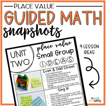 Guided Math Place Value Snapshots