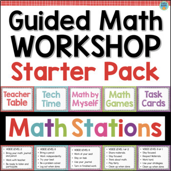 Guided Math Workshop Starter Pack