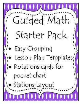 Guided Math Starter Pack