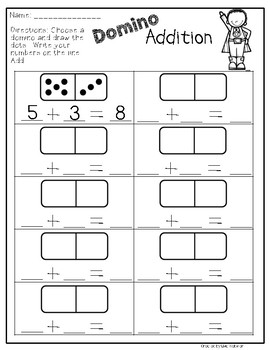 Guided Math Station Addition and Subtraction Working with Numbers 0-20