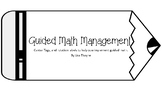 Guided Math Station Management Labels
