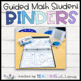 Guided Math Student Binders