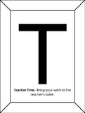 Guided Math T.I.M.E Posters
