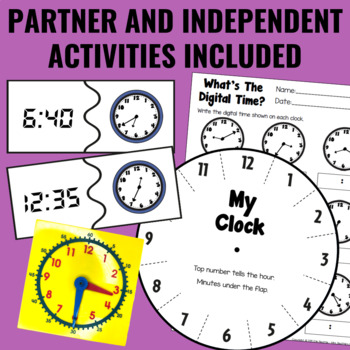 Guided Math: Time Centers