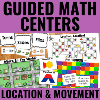Guided Math Centers: Transformational Geometry