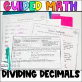 Fifth Grade *Guided Math* - Unit 5 Dividing Decimals
