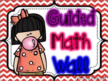 Guided Math Wall Set-Up